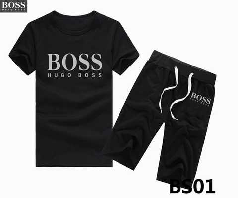 jogging boss court homme jogging boss court collection jogging court homme destock. Black Bedroom Furniture Sets. Home Design Ideas